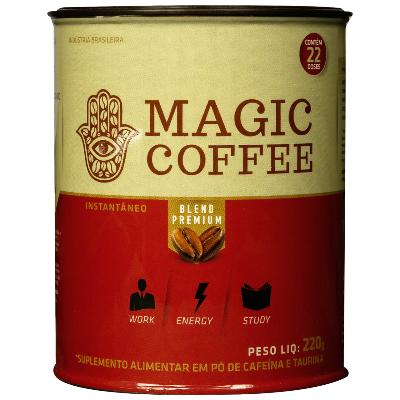 TERMO COFFEE MAGIC COFFE - 200GR - 22 DOSES